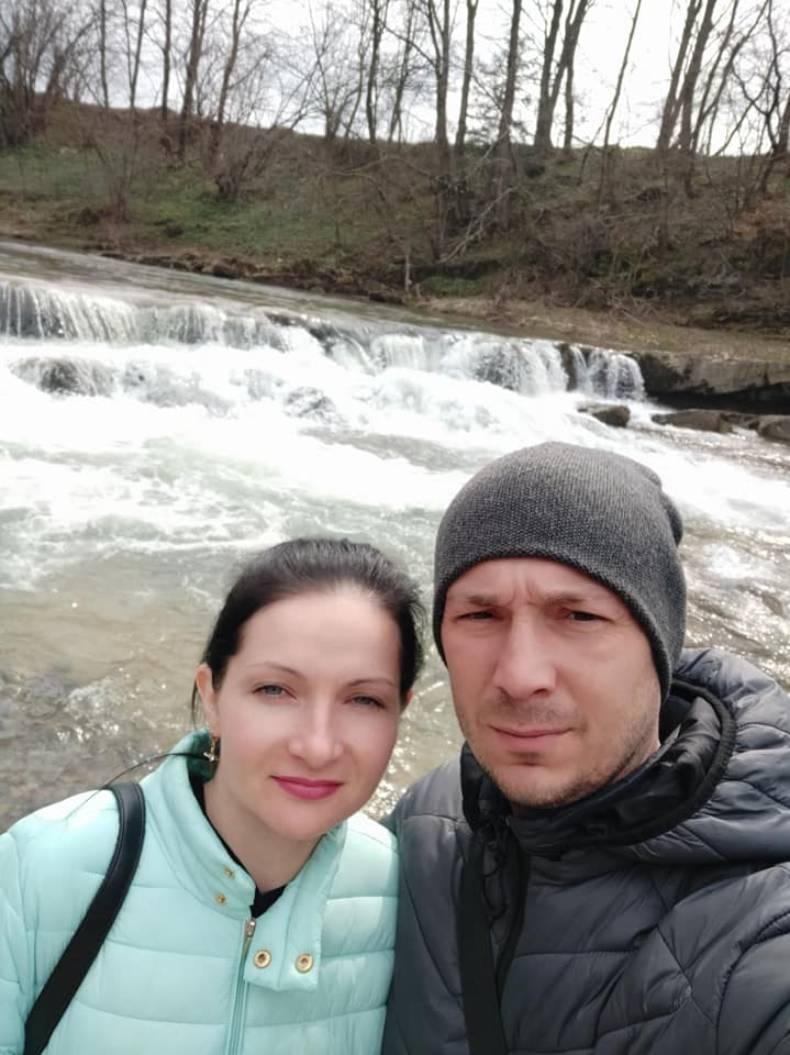 Андрей с женой Еленой