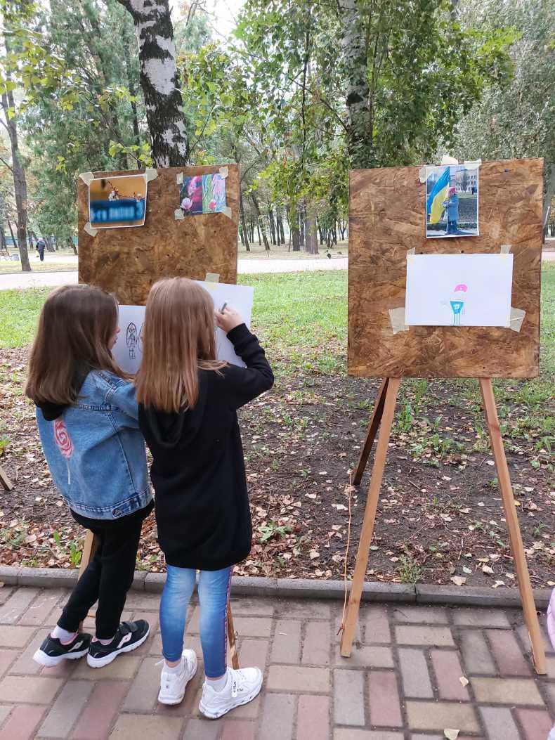 Конкурс малюнків для дітей на Громадському пікніку
