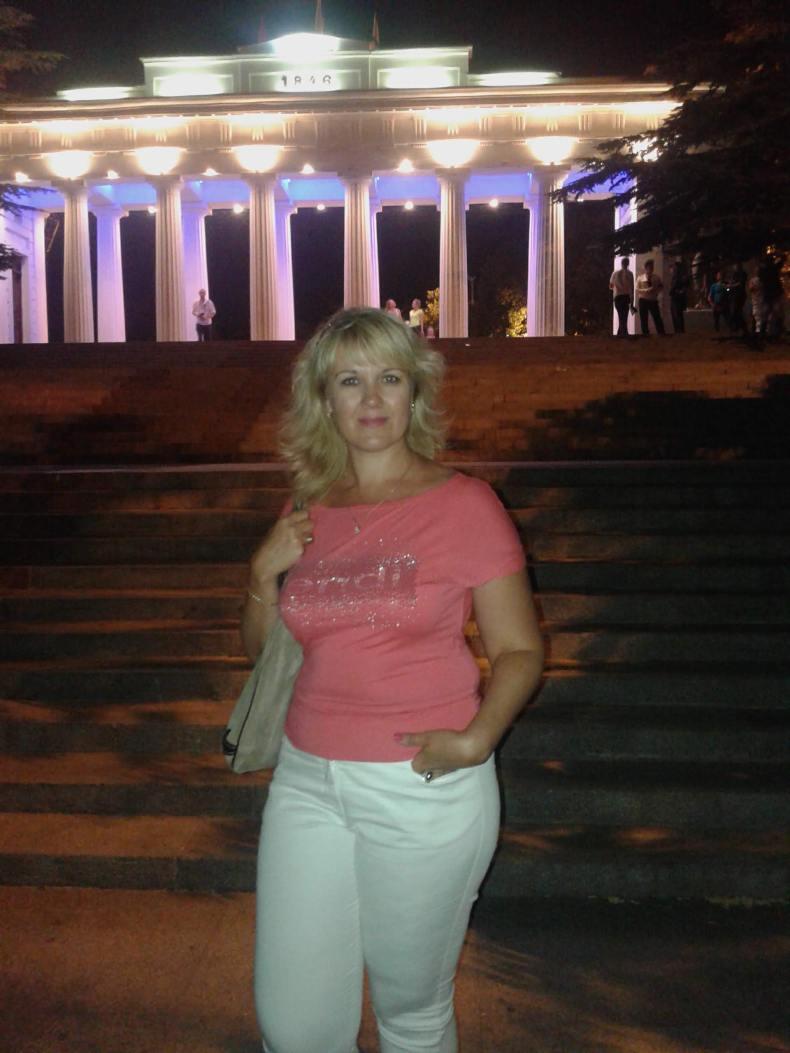 Наталья на отдыхе