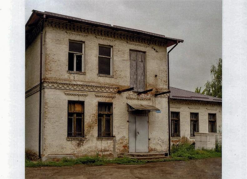 """Фото старовинної будівлі Краматорська з альбому """"Спадщина"""""""