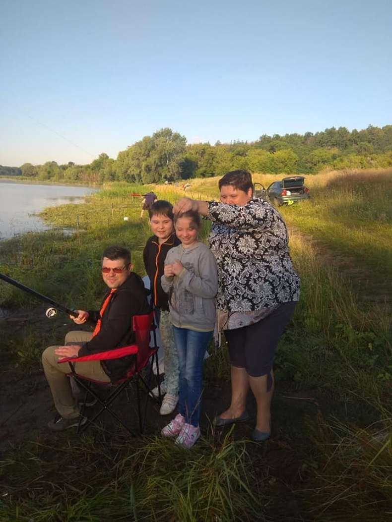 Сергей с семьей на отдыхе