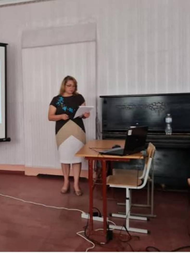 Ірина Токарева, директорка ЗЗСО 21