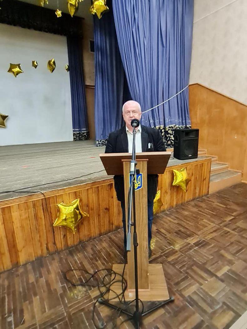 Леонід Шевченко, директор ЗЗСО 16