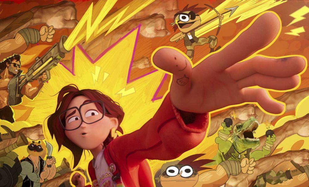 Кадр из мультфильма «Митчеллы против машин»