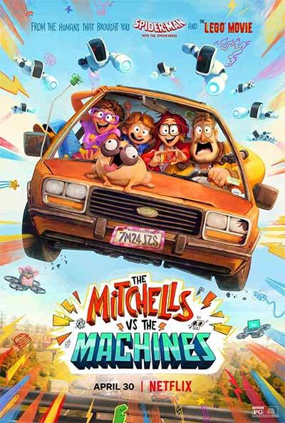 Постер мультфильма «Митчеллы против машин»