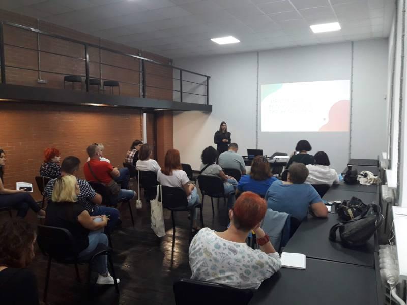 Зала для проведення навчання Чернігівського бізнес-хабу