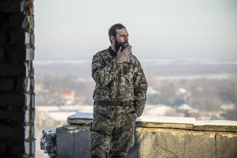 Арнольд Данилов, ветеран АТО