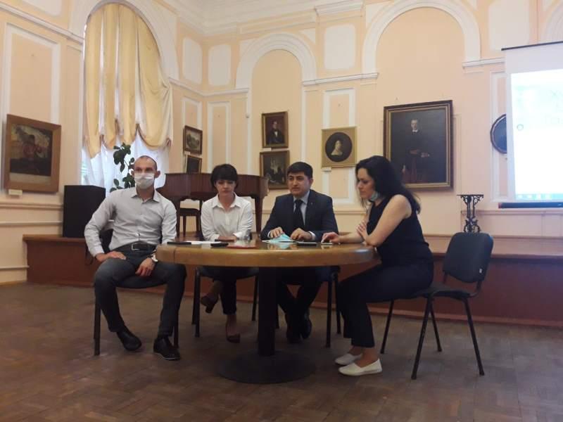 Робоча зустріч з адміністрацією Чернігівської ОДА