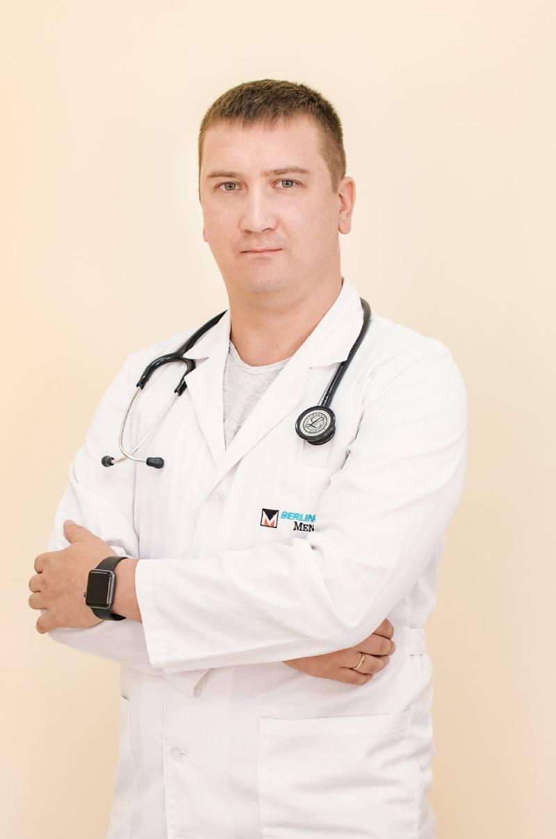 Андрій Прудивус, завідувач амбулаторії № 5 ЦПМСД №1 Краматорська