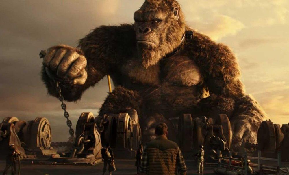 Фильм «Годзилла против Конга», кадр 2