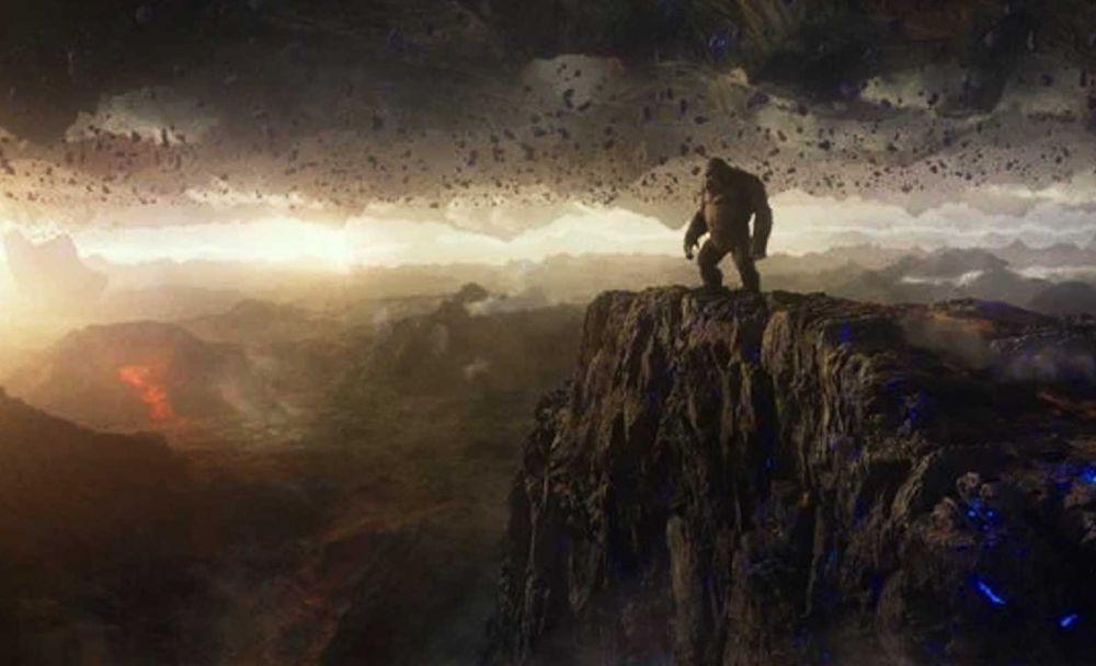 Фильм «Годзилла против Конга», кадр 4