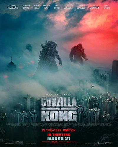 Фильм «Годзилла против Конга», постер