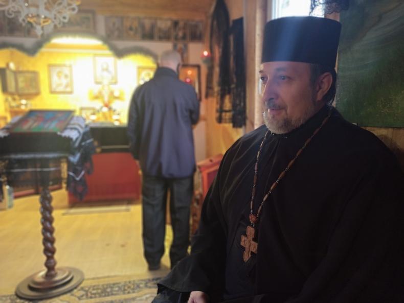 Отец Игорь, настоятель прихода