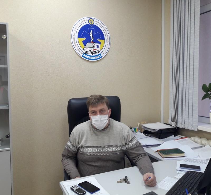 """Директор КПН """"ОЦЕМД та МК"""" Кияшко Ігор Анатолійович"""