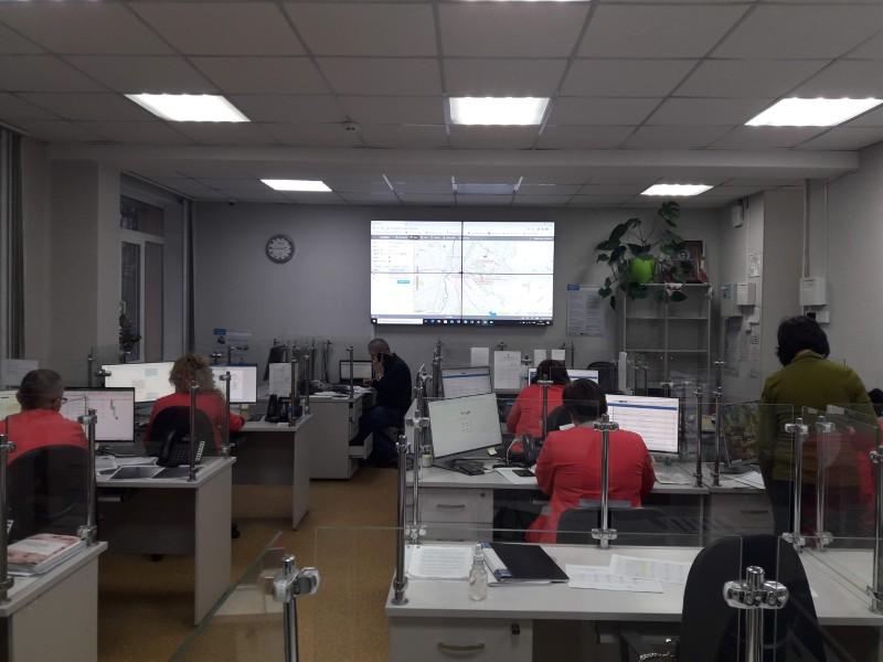 Оперативно-диспетчерська служба ОЦЕМД та МК