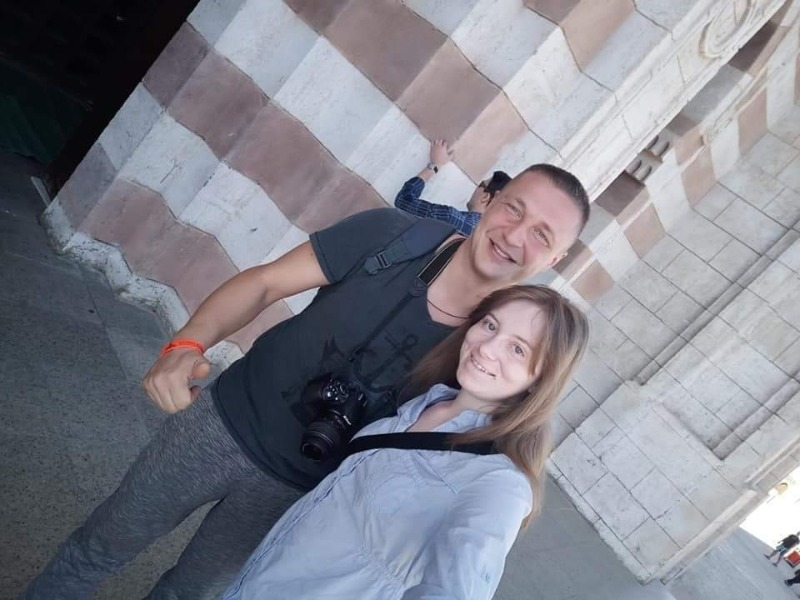 Ольга Бенда вперше за кордоном