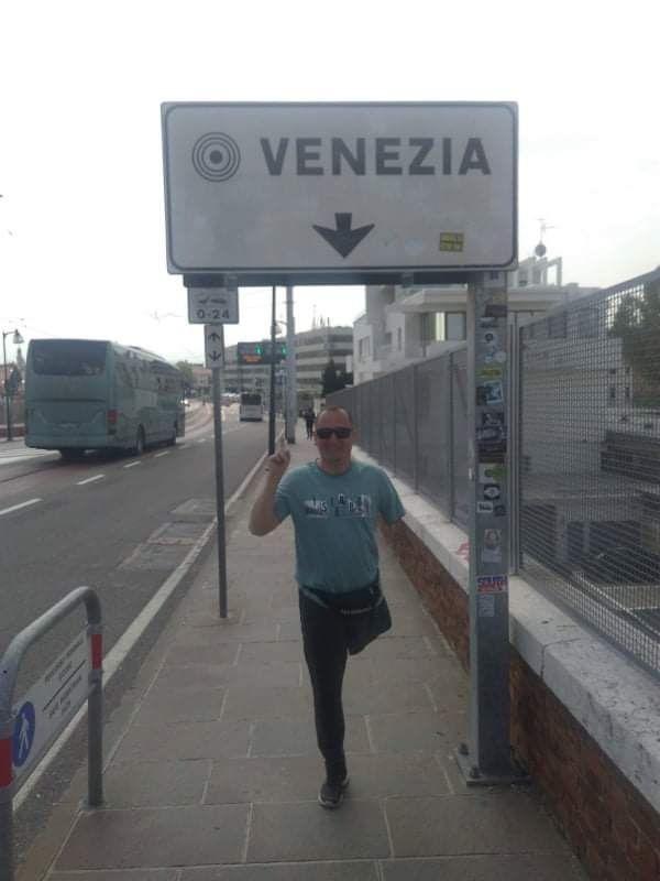 Сергій Храпко у Венеції