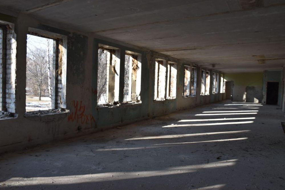 Приміщення будівлі на Іванівці, що реконструюватимуть під дитячий садок