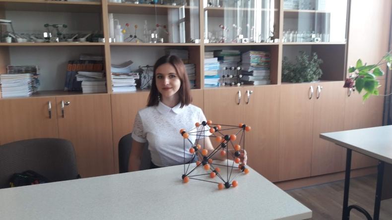 Катя Перекрестова, випускница школы №22