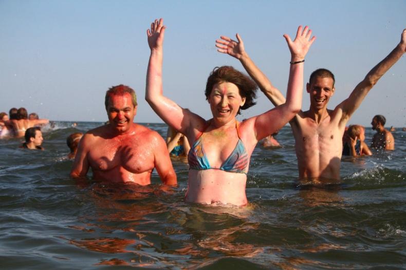 Оксана Хилюкова на отдыхе с друзьями