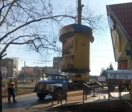 demontazh-kioska-v-kramatorske