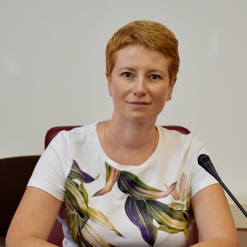 """Мария Карпунина, автор проекта """"Социальная рекламная кампания в поддержку внедрения паллиативной помощи в Краматорске"""""""