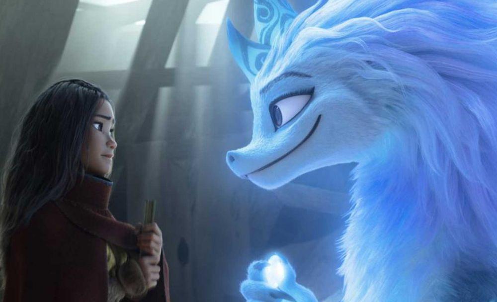 Кадр из мультфильма «Райя и последний дракон»