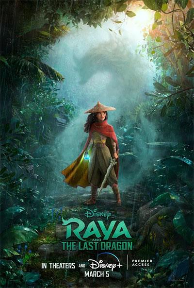 Мультфильм «Райя и последний дракон», постер