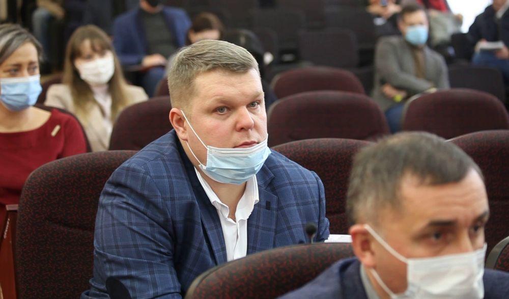 Ігор Сташкевич, секретар Краматорської міської радт
