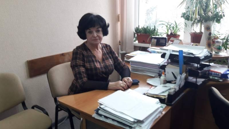 Надія Жолудь, завідувач відділенням організації санітарно гігієнічних досліджень