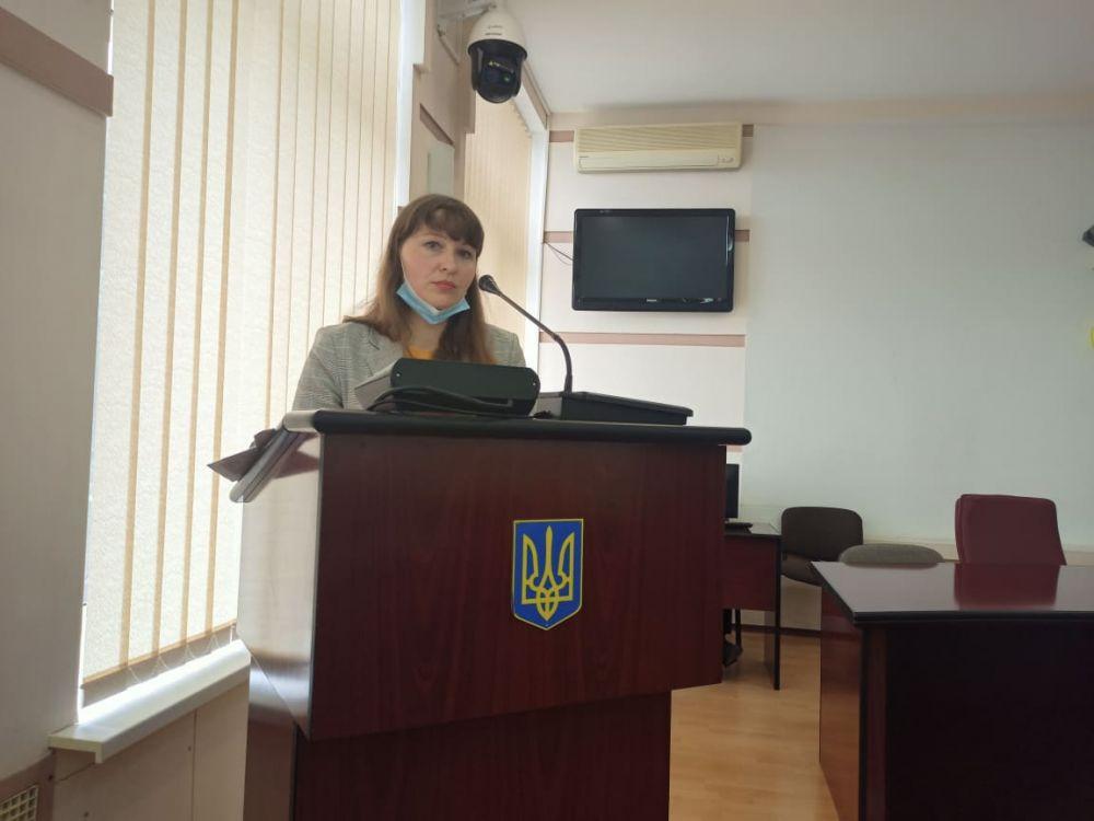 В.о. начальника управління освіти Олена Дрига