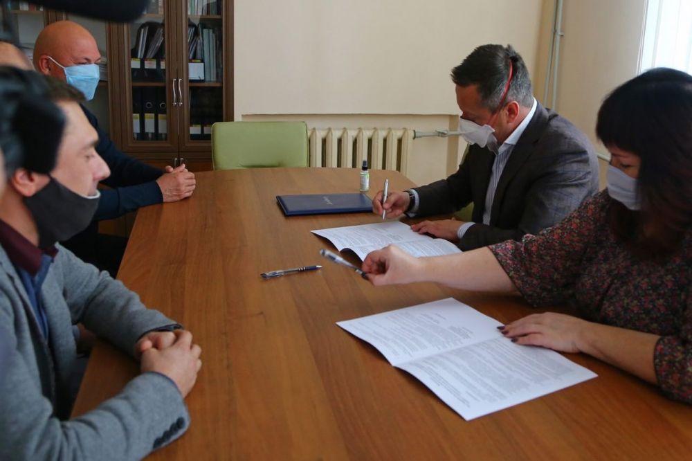 Александр Гончаренко кандидат на пост мєра Краматорска