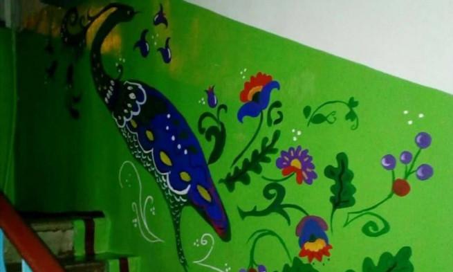 разрисованный подъезд нади курченко (5)