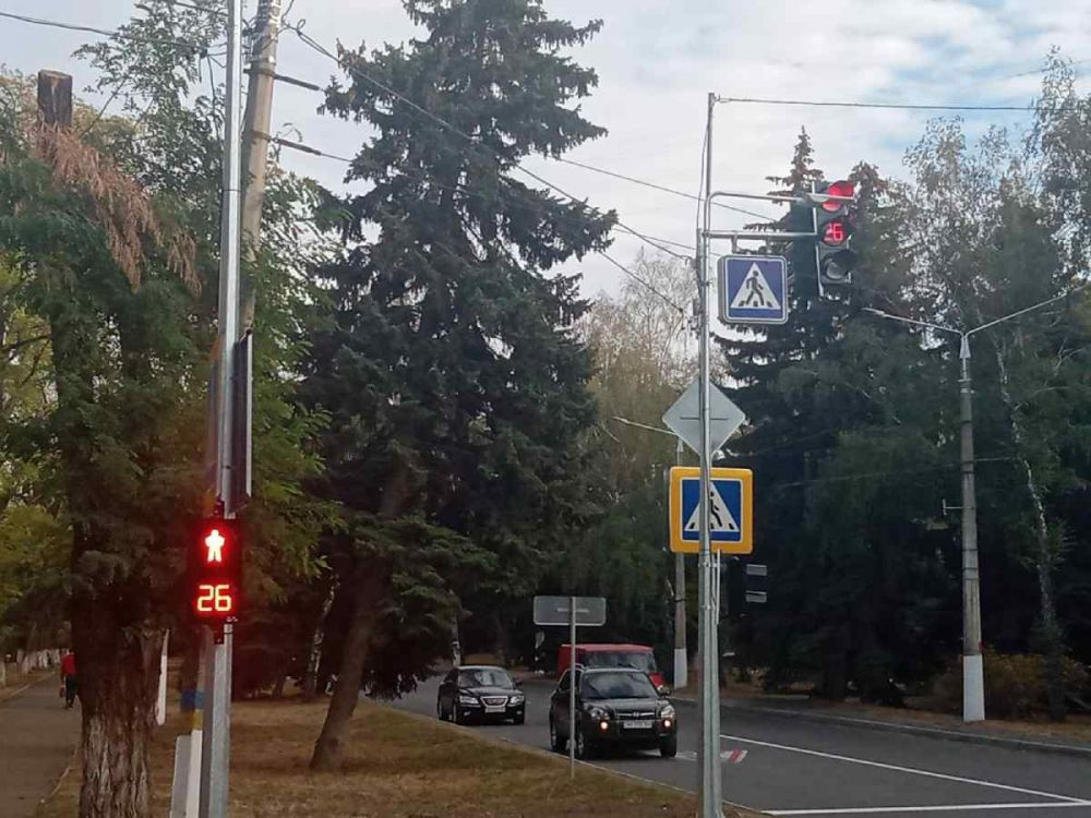 Пішохідний світлофор